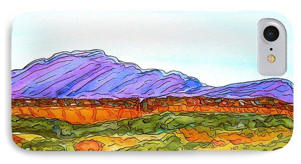 Hills That Nourish IPhone Case