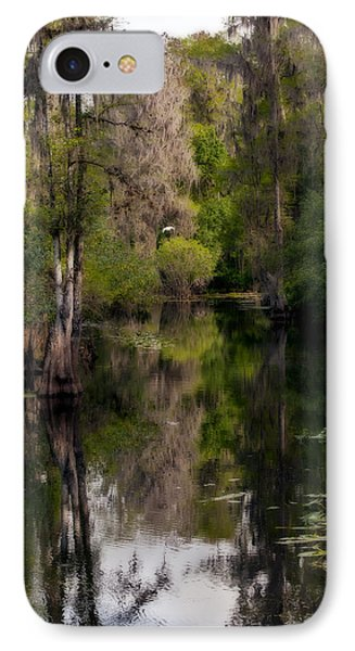 IPhone Case featuring the photograph Hillsborough River In March by Steven Sparks