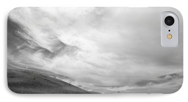 IPhone Case featuring the photograph Hillside Meets Sky by Kathleen Grace