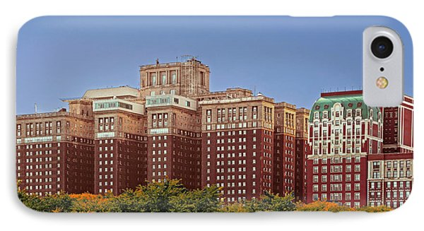 Hilton Chicago And Blackstone Hotel Phone Case by Christine Till