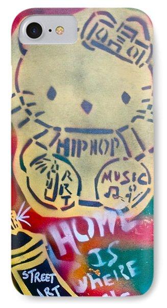 Hip Hop Kitty Phone Case by Tony B Conscious