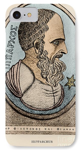 Hipparchus, Greek Astronomer Phone Case by Photo Researchers, Inc.