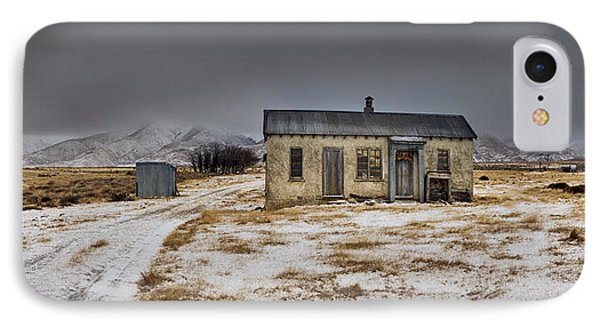 Historic Farm After Snowfall Otago New Phone Case by Colin Monteath