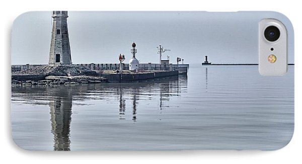 Historic Lighthouse On Lake Erie Phone Case by Phil Pantano
