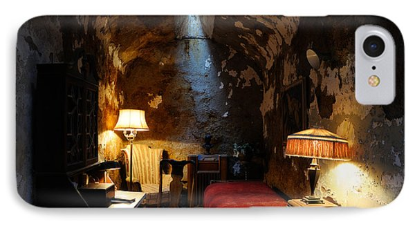 Historic Prison Cell Of Al Capone Phone Case by Gary Whitton