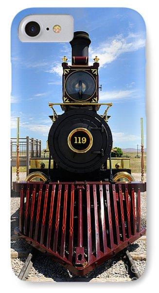 Historic Steam Locomotive IPhone Case by Gary Whitton