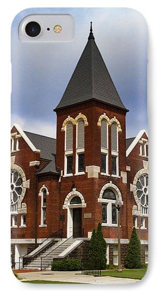 Historical 1901 Uab Spencer Honors House - Birmingham Alabama IPhone Case