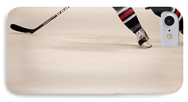 Hockey Stride Phone Case by Karol Livote