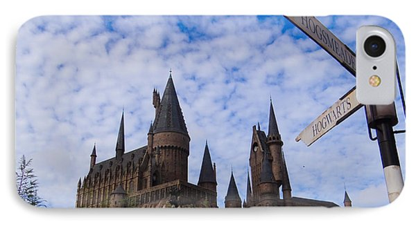 IPhone Case featuring the photograph Hogwarts Castle by Julia Wilcox