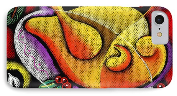 Holiday Turkey Dish IPhone Case by Leon Zernitsky