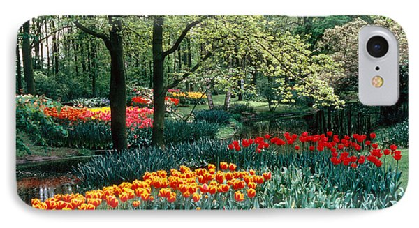 Holland Kuekenhof Garden Phone Case by Dale P Hanson and Photo Researchers