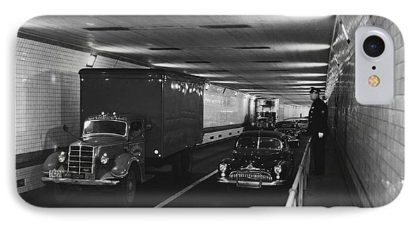 Holland Tunnel, Nyc Phone Case by Photo Researchers