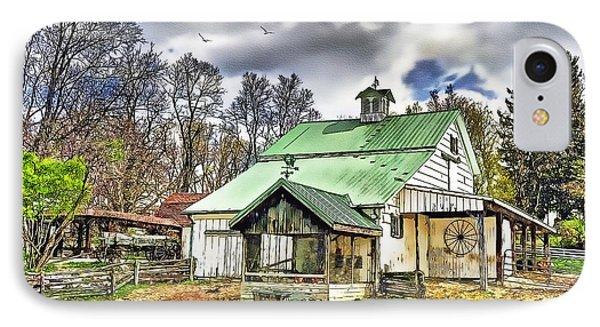 Holmes County Farm Phone Case by Tom Schmidt