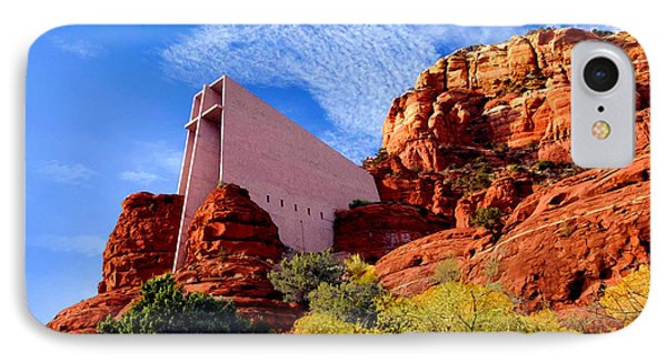 Holy Cross Or Red Rock Chapel IPhone Case