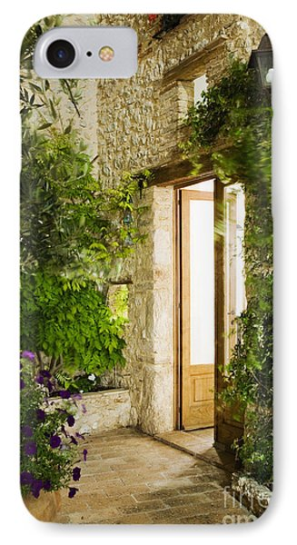 Home Entrance And Courtyard Phone Case by Andersen Ross