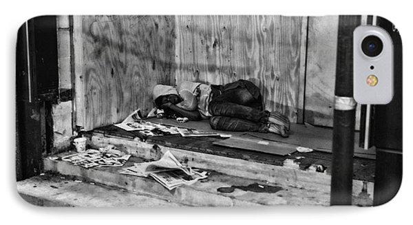 Homeless Phone Case by Paul Ward