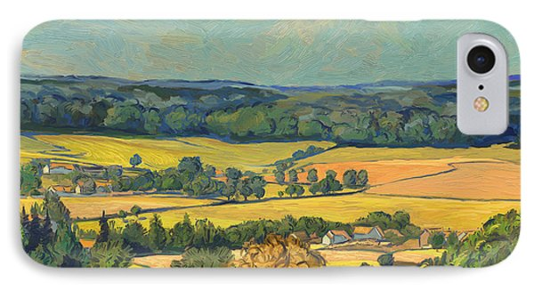 Hommage To Vincent Van Gogh - Zuid Limburg Phone Case by Nop Briex