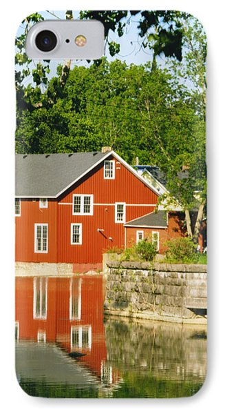 Honeoye Falls Mill One Phone Case by Joshua House