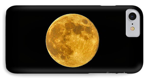 Honey Moon Close Up Phone Case by Al Powell Photography USA
