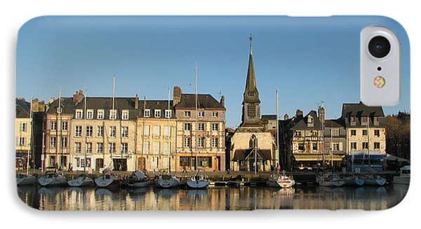 IPhone Case featuring the photograph Honfleur  by Carla Parris