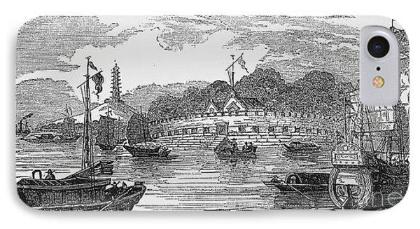 Hong Kong: Harbor, 1842 Phone Case by Granger