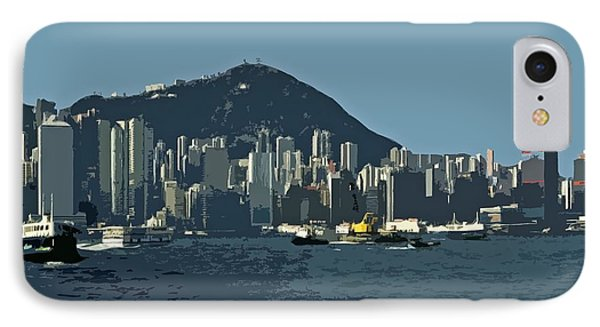 Hong Kong Island ... IPhone Case