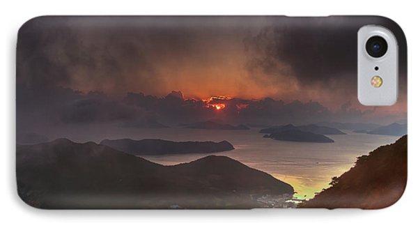 Hongpo Sunset South Korea  IPhone Case
