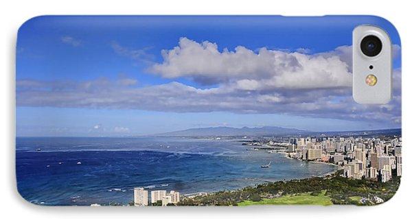 Honolulu From Diamond Head IPhone Case