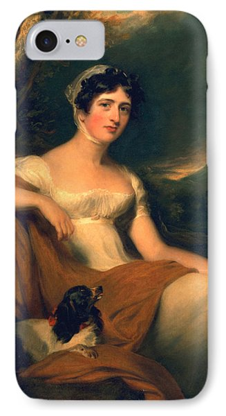 Honorable Emma Cunliffe Later Emma Cunliffe-offley Phone Case by Thomas Lawrence