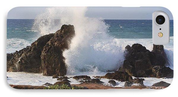 Hookipa Beach Wave 1 Phone Case by Teresa Zieba