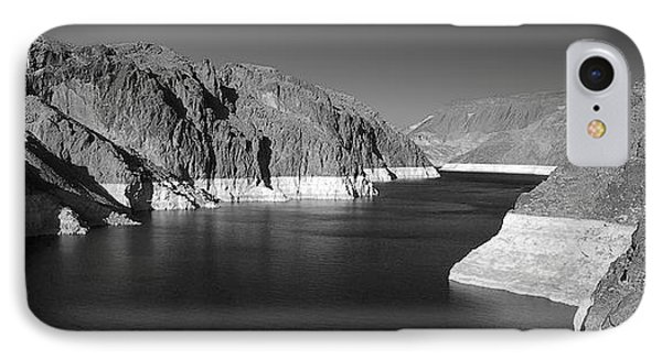 Hoover Dam Reservoir - Architecture On A Grand Scale Phone Case by Christine Till