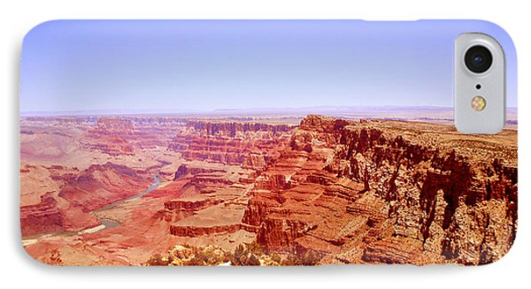 IPhone Case featuring the photograph horizon in Grand Canyon by Rima Biswas