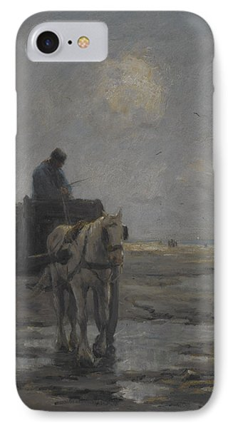 Horse And Cart Phone Case by Evert Pieters