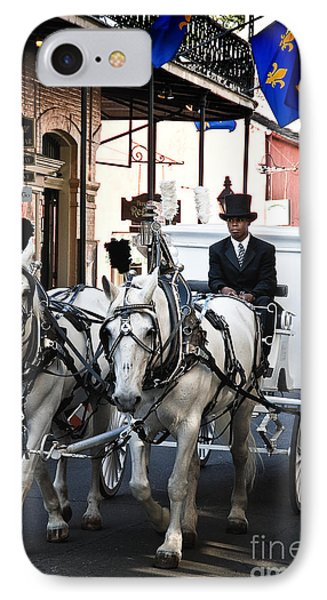 Horse Drawn Carriage Color Phone Case by Kathleen K Parker