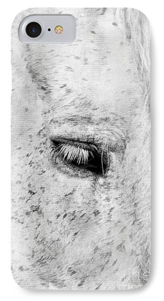 Horse Eye Phone Case by Darren Fisher