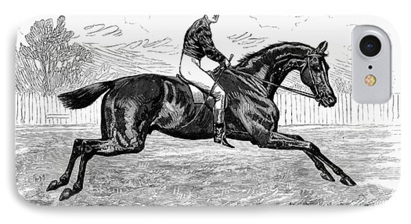 Horse Racing, 1880s Phone Case by Granger