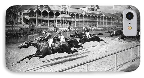 Horse Racing, 1889 IPhone Case by Granger