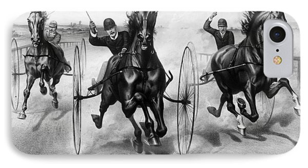 Horse Racing, 1890 Phone Case by Granger