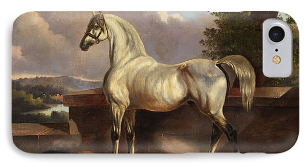Horse IPhone Case by Rudolph Swoboda