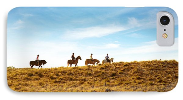 Horseback Riding Phone Case by Carlos Caetano
