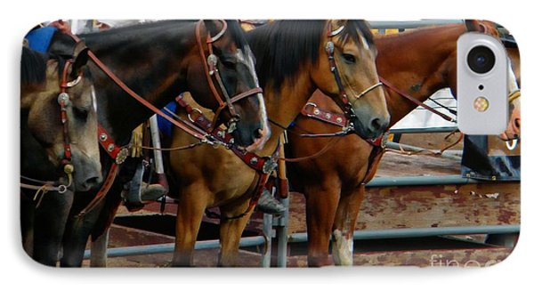 Horses Phone Case by Michelle Frizzell-Thompson
