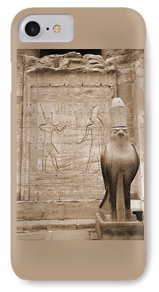 Horus Temple Phone Case by Donna Corless
