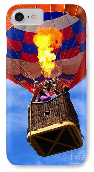 Hot Air Balloon IPhone Case by Carlos Caetano
