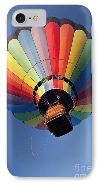 Hot Air Balloon In Flight Phone Case by Bryan Mullennix