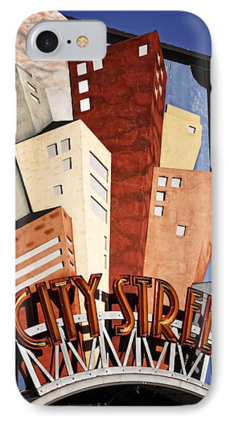 Hot City Streets Phone Case by Joan Carroll