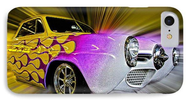 Hot Rod Art Phone Case by Steve McKinzie