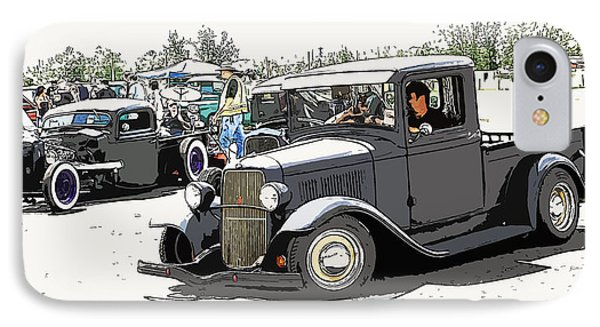 Hot Rod Show Trucks Phone Case by Steve McKinzie