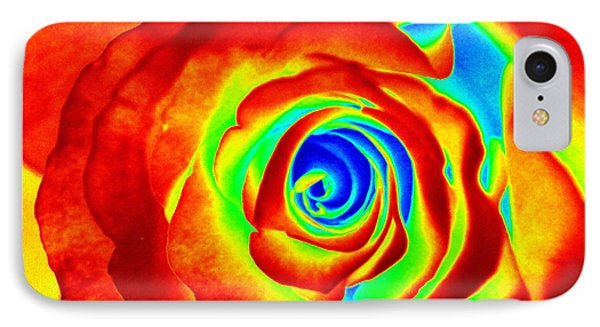 Hot Rose IPhone Case