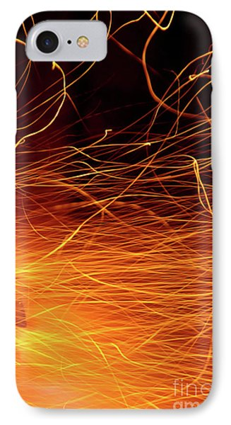 Hot Sparks Phone Case by Carlos Caetano