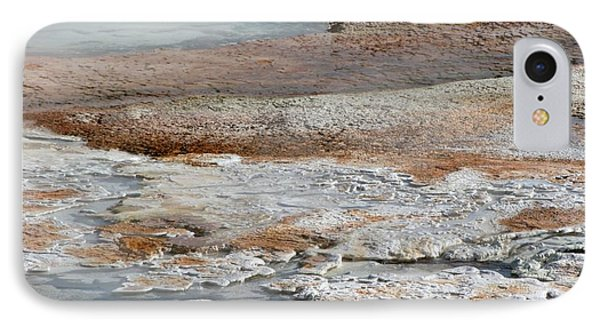 Hot Springs Abstract Two Phone Case by Sabrina L Ryan